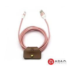 【亞果元素】PeAk 200B 金屬編織傳輸線-玫瑰金限量款